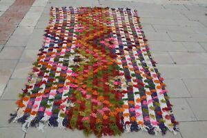 Orange Kilim Rug, Pink Kilim Rug, Colorful Rugs, Turkish Rugs, Oriental  Rugs, C