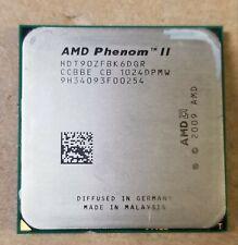 AMD Phenom II X6 1090T BE 3.2GHz Socket AM3 Hexa Core CPU HDT90ZFBK6DGR *READ