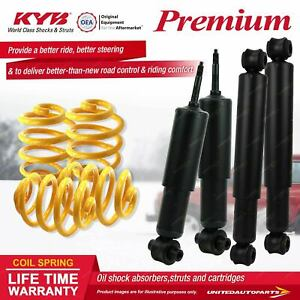 F+R KYB PREMIUM Shock Absorbers Lowered King Springs for FIAT 124 124A 1.2 I4