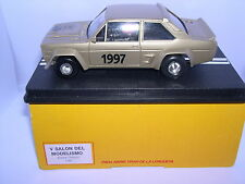 "SCALE CARR FIAT 131 V SALON DEL MODELISMO ESTADI OLIMPIC 1997 ""GOLD"" 5 UNITS"