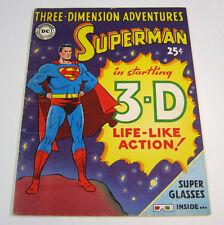 Superman 3-D Three Dimension Adventures Origin Issue GOLDEN AGE DC COMICS 1953