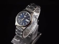 SNK793K1 SEIKO 5 Stainless Steel Band Automatic Men's Blue Watch SNK793 New
