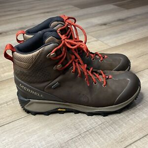 Merrell Thermo Glacier Mid Waterproof Mens size 8.5  Hiking Outdoor Camping