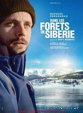 DANS LES FORETS DE SIBERIE Affiche Cinéma / Movie Poster 160x120