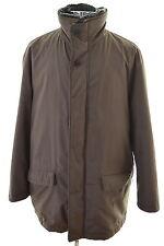 Pierre Cardin Mens Jacket XXL Brown Polyester