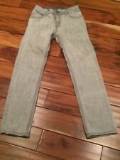 Gap kids Stella McCartney Gun Metal Washed Gray/black Skinny Jeans Size 14