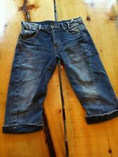 evisu jeans Men Shorts Size 32 distressed japan