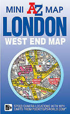 LONDON WEST END Mini Map by Geographers' A-Z Map Co Ltd - Includes Theatre Guide