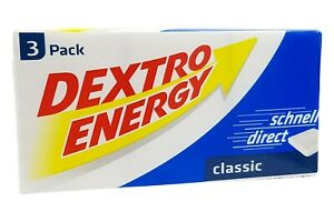 2x 3-Packs Dextro Energy Classic 276g | 0.5lbs Dextrose🍬 from Germany ✈ TRACKED