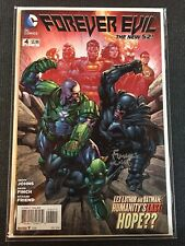 Forever Evil #4 New 52 Signed SS DC Comics Combine Shipping