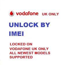 Blackberry 9315 9320 9720 código de desbloqueo sólo Reino Unido Vodafone