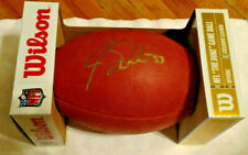 Jag's or Browns #53 JOE SCHOBERT Signed WILSON NFL Duke GAME FOOTBALL NEW in Box