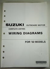 Wiring Diagrams Suzuki Outboard Motor For 2002 Models