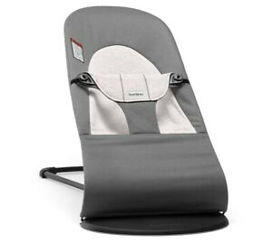 BabyBjorn Bouncer Balance Soft in Dark Grey Adjustable New In Box Msrp $199