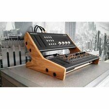 Synthé & Bois en chêne massif fin joues Double support Mk2 pour Roland Boutique Série