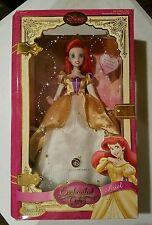 "2007 Ariel Porcelain Doll 14"" Rare Disney Brass Key Doll * Enchanted Tales"