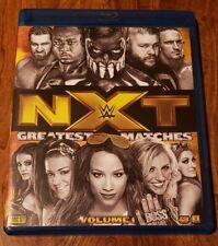 RARE WWE NXT GREATEST MATCHES VOL. 1 BLU-RAY DVD WWF WCW AEW ECW TNA IMPACT NJPW