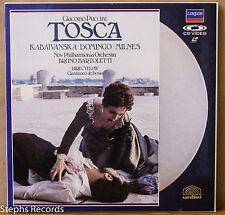 Puccini: Tosca on Laserdisc Kabaivanska Domingo Milnes