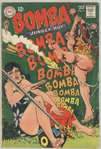 Bomba Jungle Boy #4 March 1968 VG-