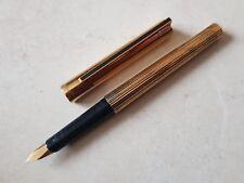 Stylo plume vulpen fountain pen fullhalter penna DUPONT GODRON nib writing 鋼筆