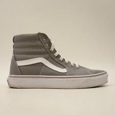 Vans Mens US 8 EU 40.5 Frost Grey Skater Athletic High Top Classic Canvas Shoes