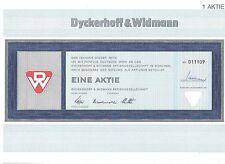 Dyckerhoff & Widmann AG 50DM  München  1970