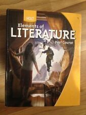 Holt Elements of Literature FIRST COURSE Student textbook ISBN 0-03-036876-6