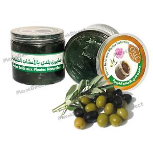 Hammam Moroccan Black Beldi Soap Natural Plants Hamam Spa Exfoliating Savon Noir