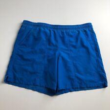 Speedo Men's Swim Trunks Shorts Medium M Blue Drawstring Lined Pockets