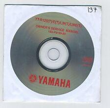 (CD137) CD YAMAHA TT-R125(T) / E(T) / LW(T) / LWE(T)