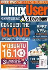 LINUX USER & DEVELOPER Issue 177 (2017) + DVD UBUNTU 16.1-Conquer The Cloud...