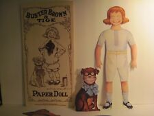 Buster Brown & Tige Paper Dolls