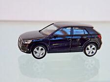 Herpa 038676-003 - H0 1:87 - Audi Q2,mito-nero METALLICO - NUOVO SCATOLA