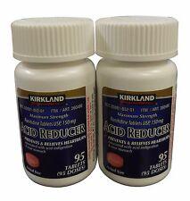 Kirkland Acid Reducer Ranitidine 150 mg 95 Tabs x 2 + FREE SHIPPING