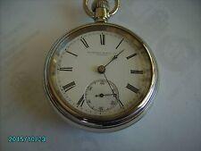 Scarce 18s Rockford 17 Jewel Grade 62 Model 7 Adjusted Pocket Watch