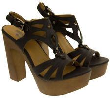 """Very High Heel (greater than 4.5"""") Block Heel Sandals Heels for Women"""