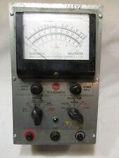 1950 Vintage Rca Voltohmyst Type 195 A Code 1146 Tube Voltmeter