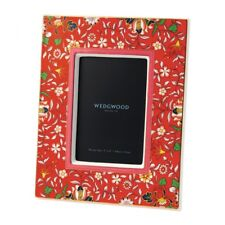 Wedgwood Wonderlust Crimson Jewel Picture Frame New in Box
