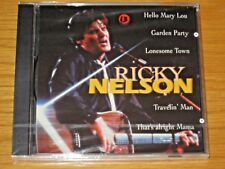 HOLLAND IMPORT NEW LIVE ROCK & ROLL CD - RICKY NELSON -