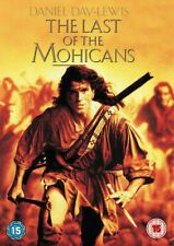THE LAST OF THE MOHICANS DANIEL DAY LEWIS MICHAEL MANN WARNER UK DVD NEW SEALED