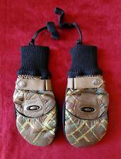 NWOT Oakley Womens GoatSkin leather Mittens Side Small 💓