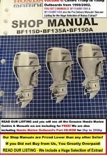 (On SALE $6.49/manual)  2 HONDA Outboard Service Manuals  Vol.6: 115hp-to-150hp