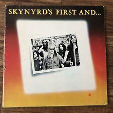 Lynyrd Skynyrd Skynyrd's First And...Last Album Vinyl LP Inner Gatefold