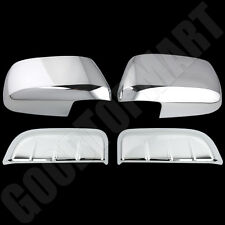 For NISSAN Pathfinder 05-12 Chrome Covers Mirror & 2 Rear Door Handles Cover