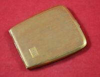 GERMAN WWII NCO SOLDIER WEHRMACHT POCKET CIGARETTES CASE BOX FOR WH SOLDIER #1