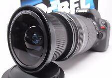 Ultra Wide Angle Macro Fisheye Lens for Canon Eos Digital Rebel 18-200 IS EFS