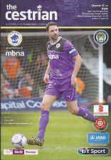 2013/14 Chester FC V Hyde 05-04-2014 Skrill Premier (eccellente)