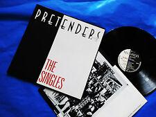 "Pretenders The Singles (LP Vinyl EX) +OIS Germany 1987 New Wave 33 rpm 12"" Rock"