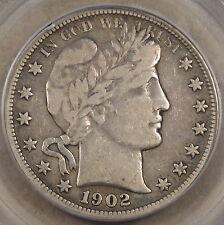 1902-O Barber Half Dollar PCGS VF20 Nice Coin!
