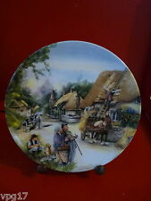 BRADFORD EXCHANGE ROYAL DOULTON  OLD COUNTRY CRAFTS  THE  THATCHER PLATE